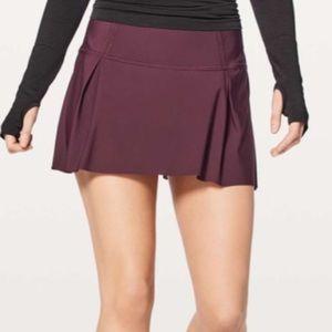"Lululemon Lost In Pace Skirt 15"""